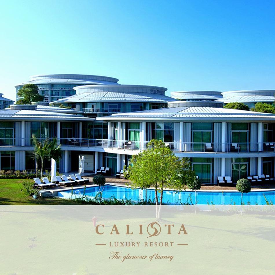 Luxury Resorts: CALISTA LUXURY RESORT